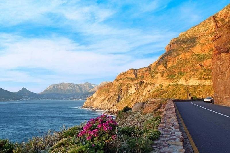 Belezas nas estradas da África do Sul