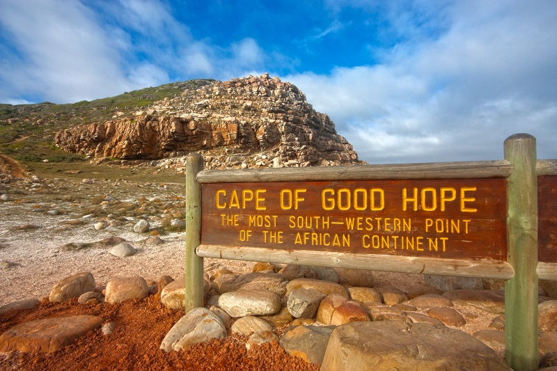 Cabo da Boa Esperança na Cidade do Cabo
