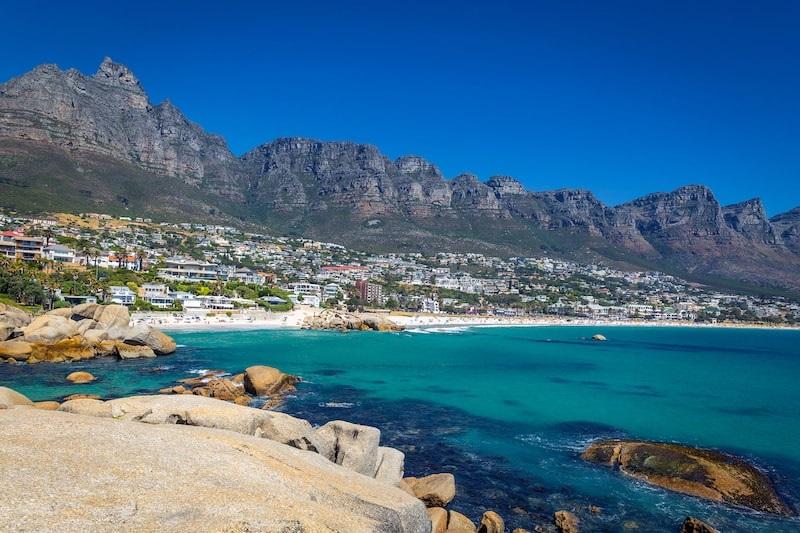 Melhores regiões para ficar na Cidade do Cabo: Camps Bay