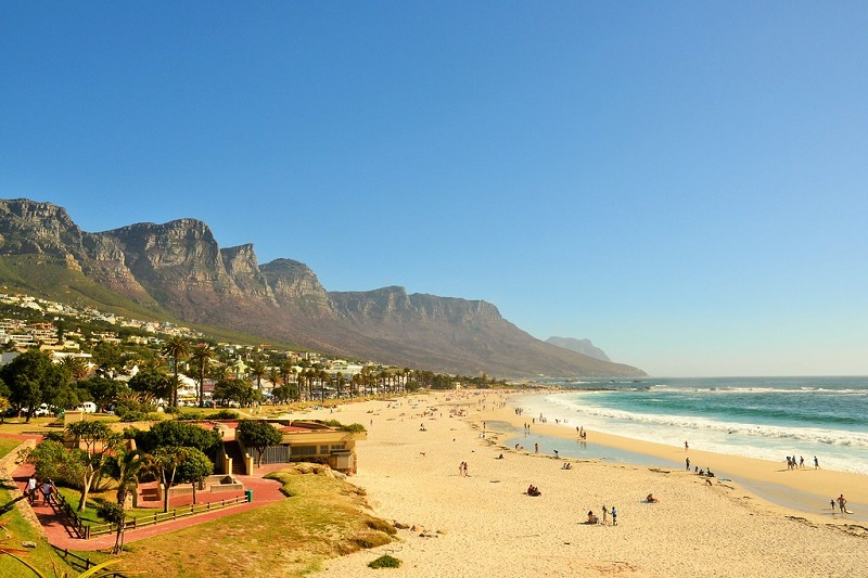 Pontos turísticos na Cidade do Cabo: Camps Bay