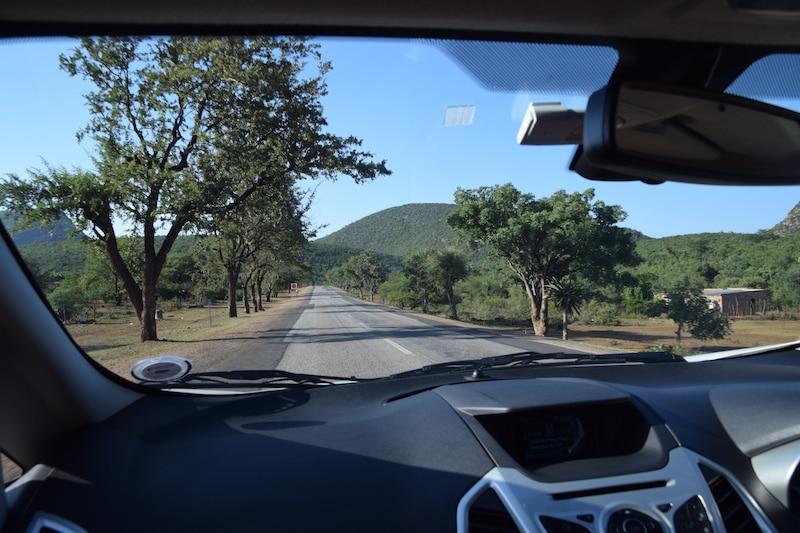 Carro na África do Sul