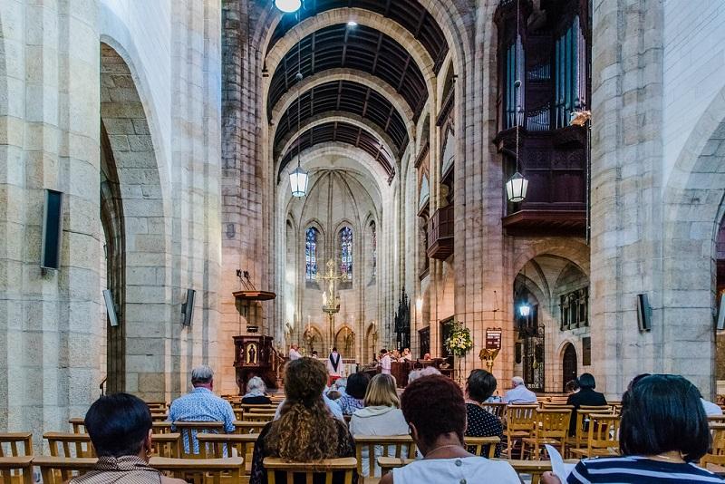 Catedral de São Jorge na Cidade do Cabo