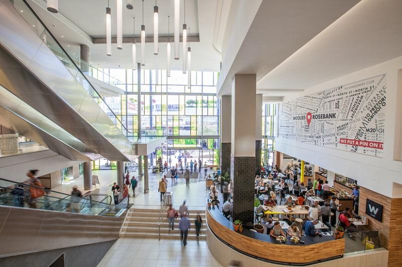 Shopping The Mall of Rosebank em Joanesburgo