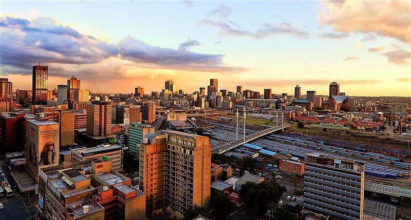 Johanesburgo na África do Sul