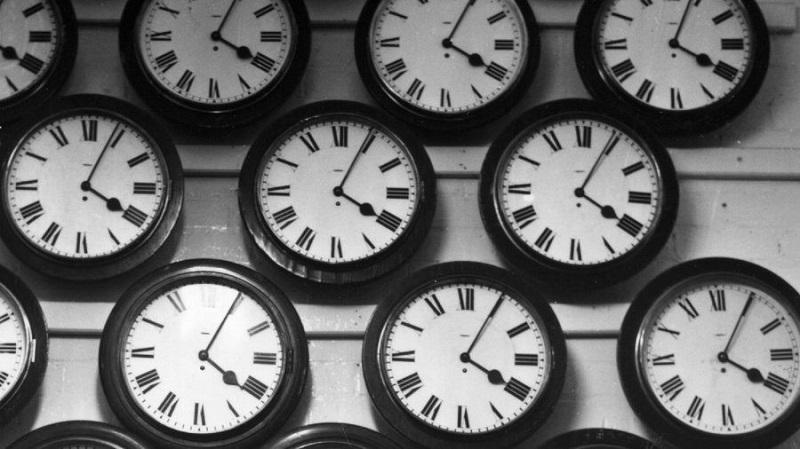 Relógios e fusos horários