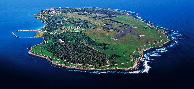 Robben Island na Cidade do Cabo