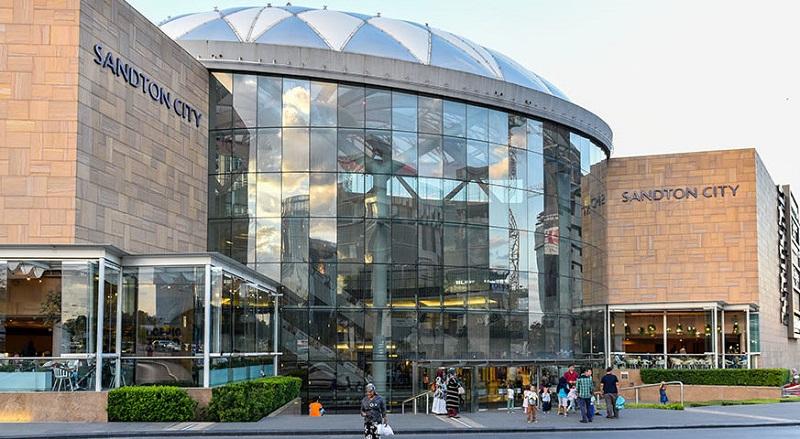 Sandton City na Nelson Mandela Square