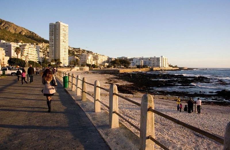Sea Point na Cidade do Cabo