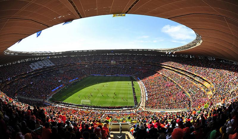 Pontos turísticos em Joanesburgo: Estádio Soccer City