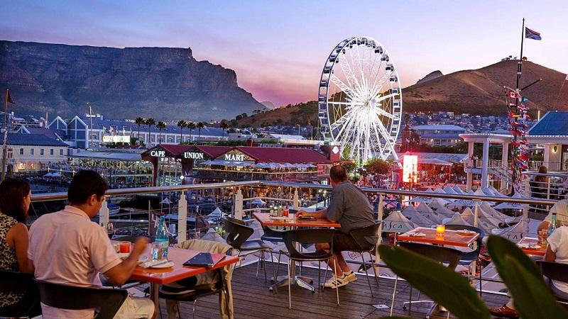 Melhores regiões para ficar na Cidade do Cabo: Waterfront