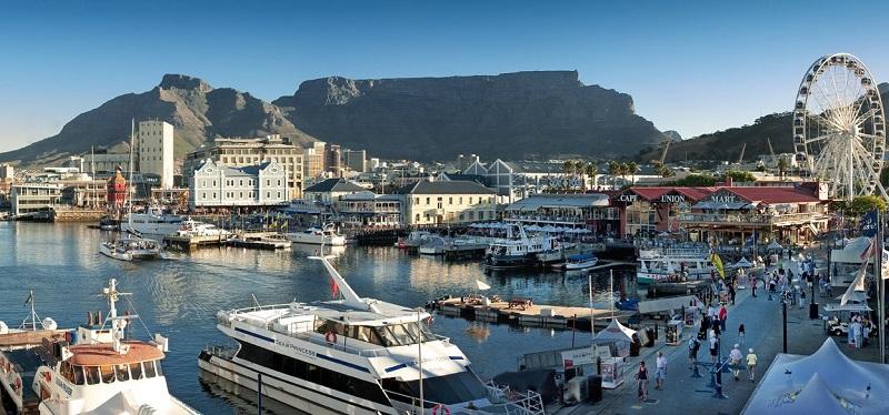 Pontos turísticos na Cidade do Cabo: Waterfront