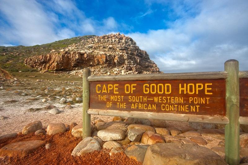 Passeios românticos na Cidade do Cabo: Cabo da Boa Esperança