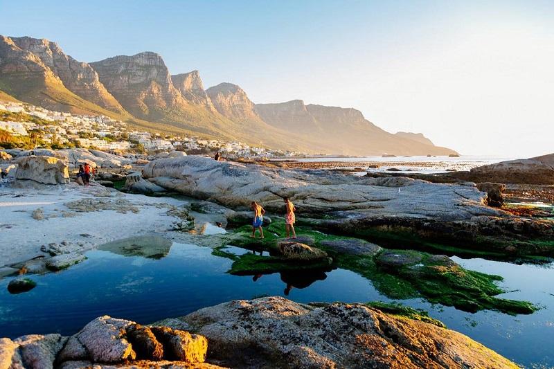 Passeios românticos na Cidade do Cabo: Camps Bay