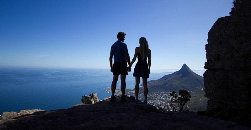 Lua de mel na Cidade do Cabo