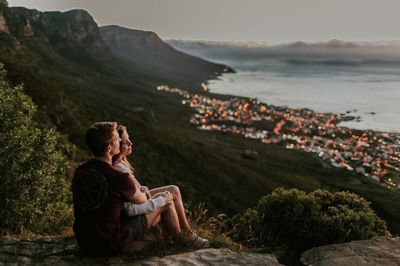 Passeios românticos na Cidade do Cabo: Table Mountain