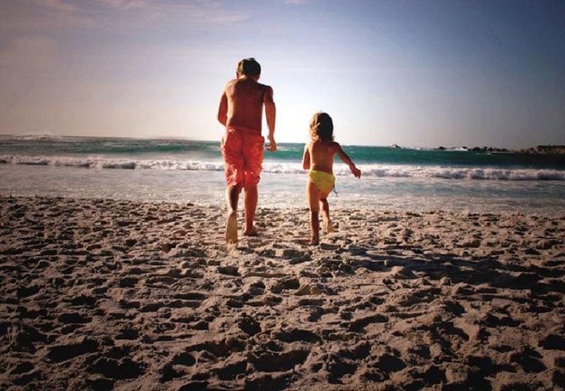 Ir a praia Camps Bay com crianças na Cidade do Cabo