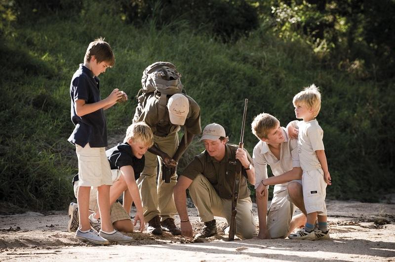 Ir ao Lion Park com crianças em Joanesburgo