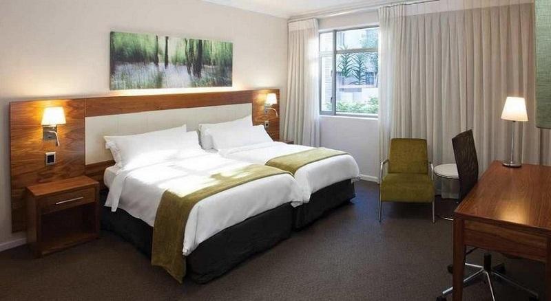 Quarto do DoubleTree by Hilton Cape Town Uper Eastside na Cidade do Cabo