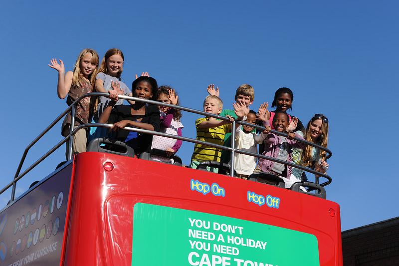 Fazer um passeio de ônibus turístico Sightseeing na Cidade do Cabo