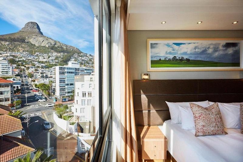 Quarto no President Hotel na Cidade do Cabo
