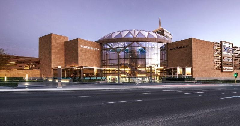 Shopping Sandton City em Joanesburgo