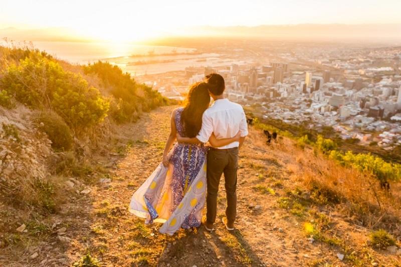Passeios românticos na Cidade do Cabo: Signal Hill