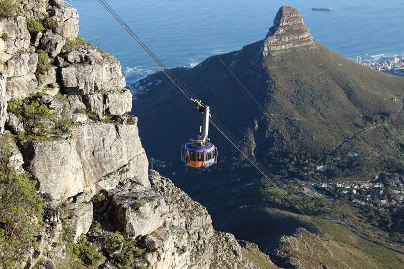 Tour de teleférico pela Cidade do Cabo e Montanha da Mesa