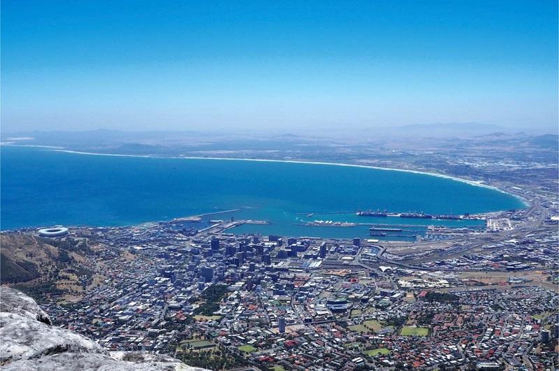 Panorâmica da Cidade do Cabo