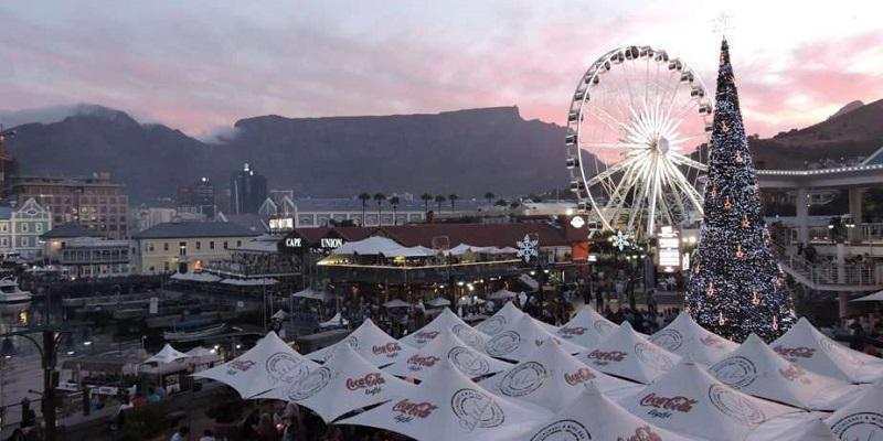 Tradições e costumes de Natal na Cidade do Cabo: decoração
