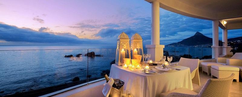 Restaurante para ir no Ano Novo na Cidade do Cabo: Azure Restaurant