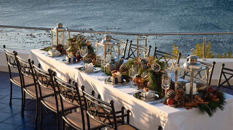 Restaurante para ir no Natal na Cidade do Cabo: Azure Restaurant