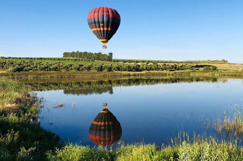 Balão na Cidade do Cabo