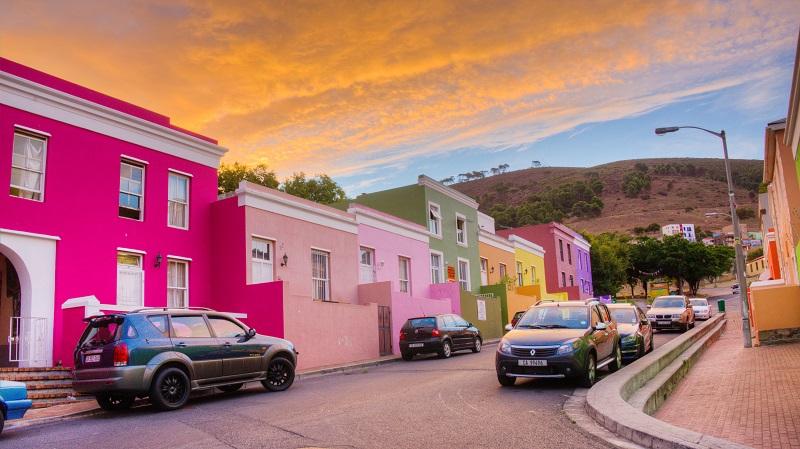 Verão na Cidade do Cabo: Bo Kaap