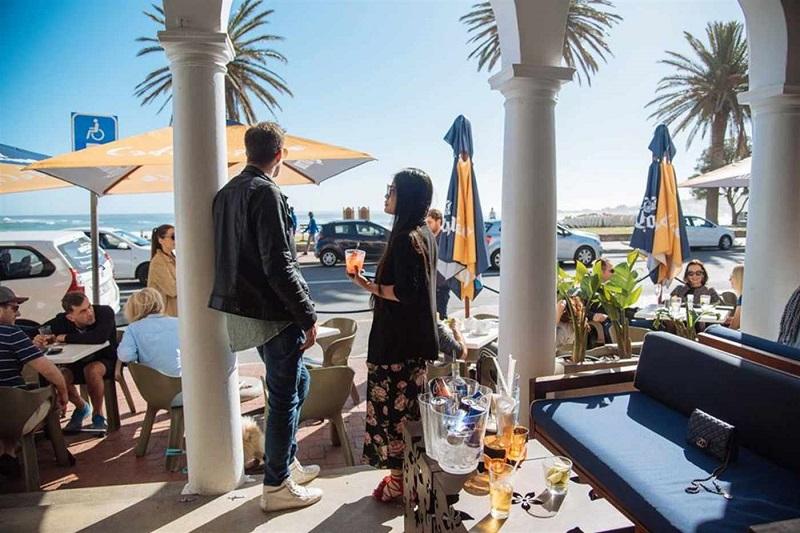 Café Caprice na Cidade do Cabo