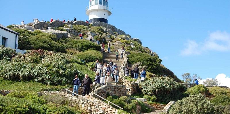Cape Point e Lighthouse na Cidade do Cabo