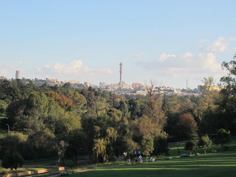 Verão em Joanesburgo: Parques
