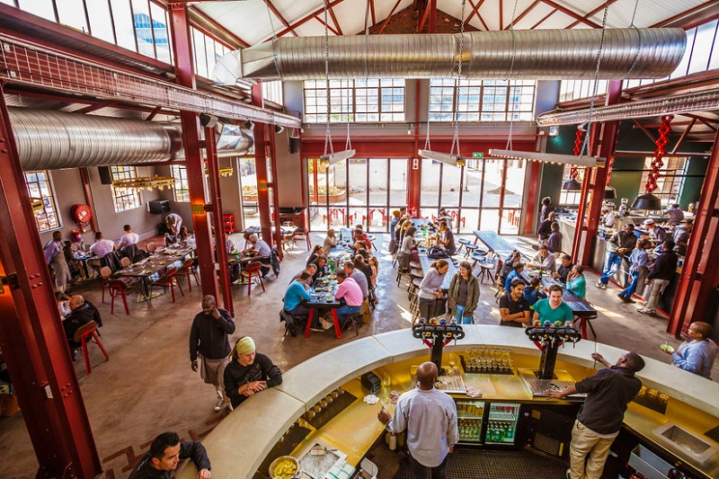 Mad Giant Brewery em Joanesburgo