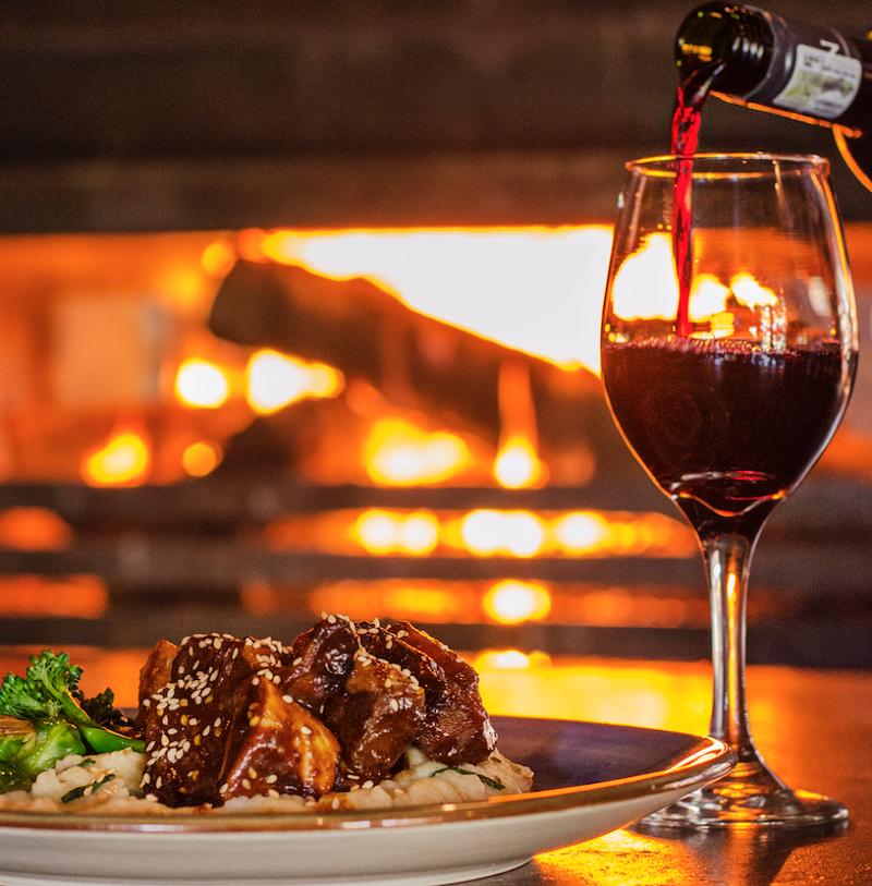 Inverno em Joanesburgo: Restaurantes