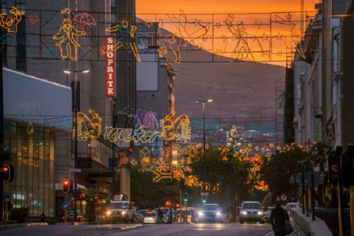 Natal na Cidade do Cabo