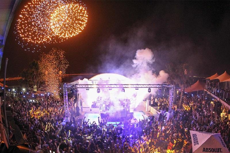 Balada/festa para ir no Ano Novo na Cidade do Cabo: Shimmy Beach Club