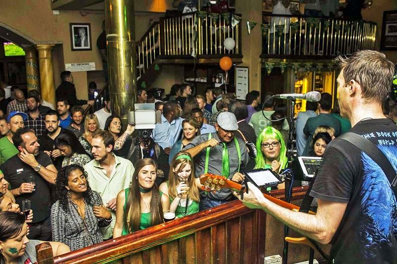 Bar/Balada The Dubliner na Cidade do Cabo