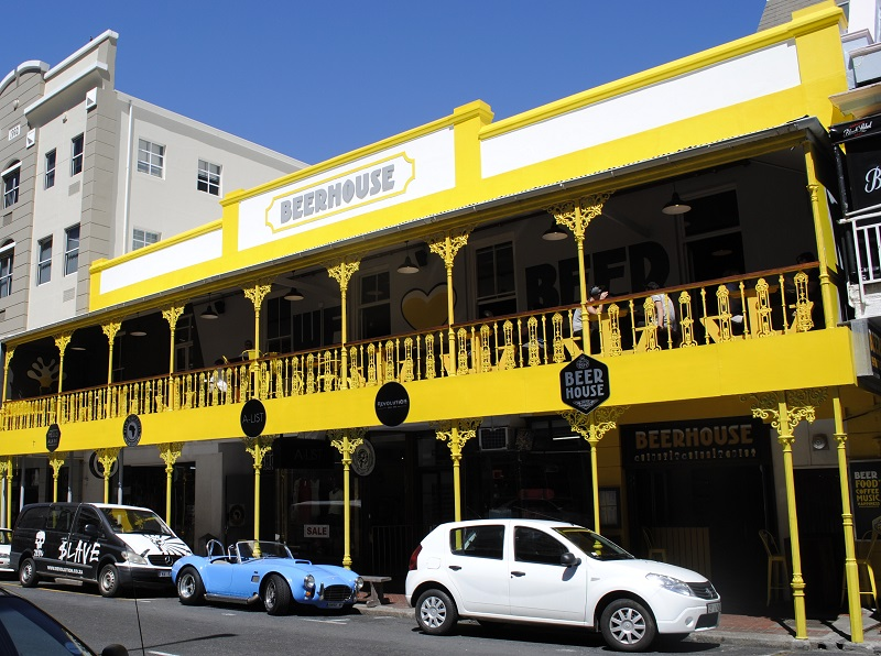 BEERHOUSE na Long Street na Cidade do Cabo