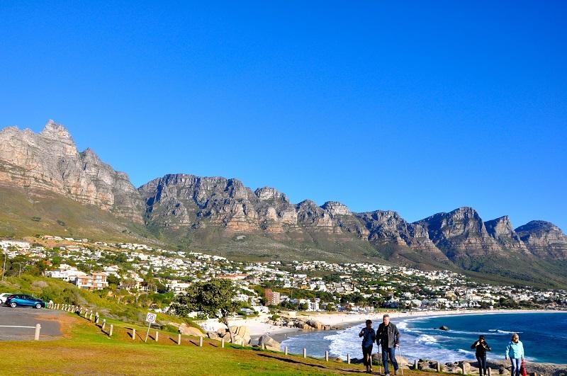Região dos principais e melhores hotéis da Cidade do Cabo: Camps Bay