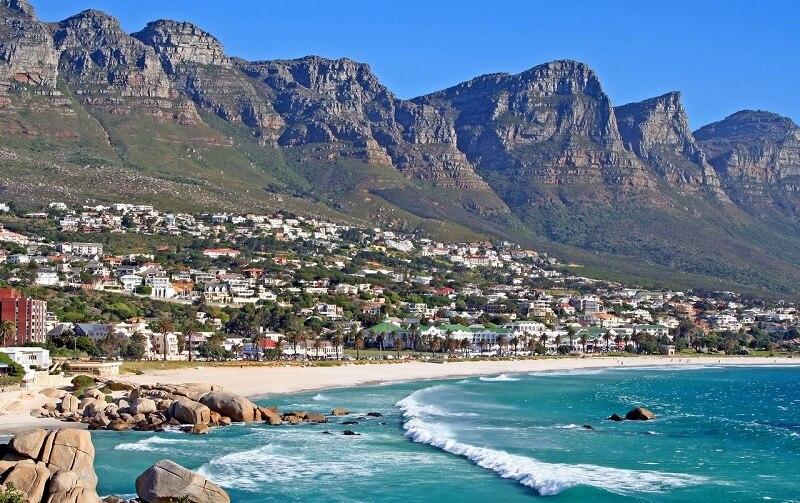 Melhores praias da Cidade do Cabo: Camps Bay