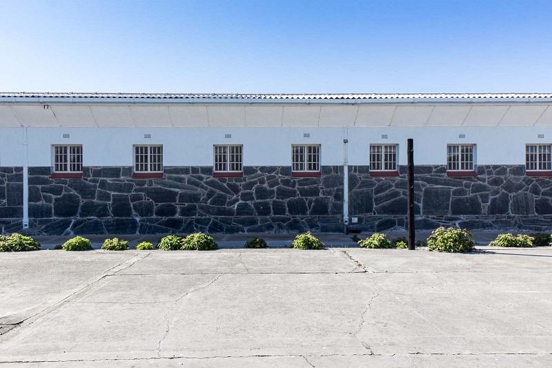 Celas na Ilha Robben na Cidade do Cabo