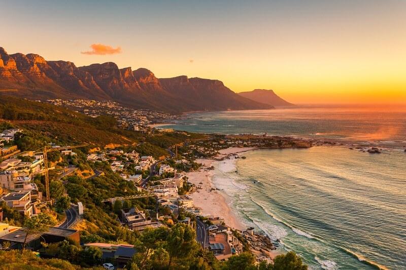 Melhores praias da Cidade do Cabo: Clifton Beach