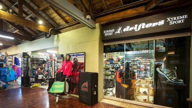 Comprar sapatos no shopping Cape Quarter na Cidade do Cabo