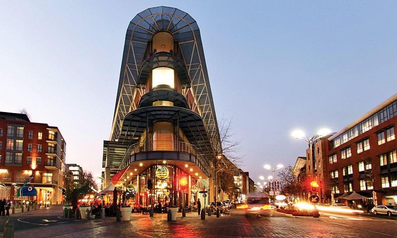 Região dos principais e melhores restaurantes de Joanesburgo