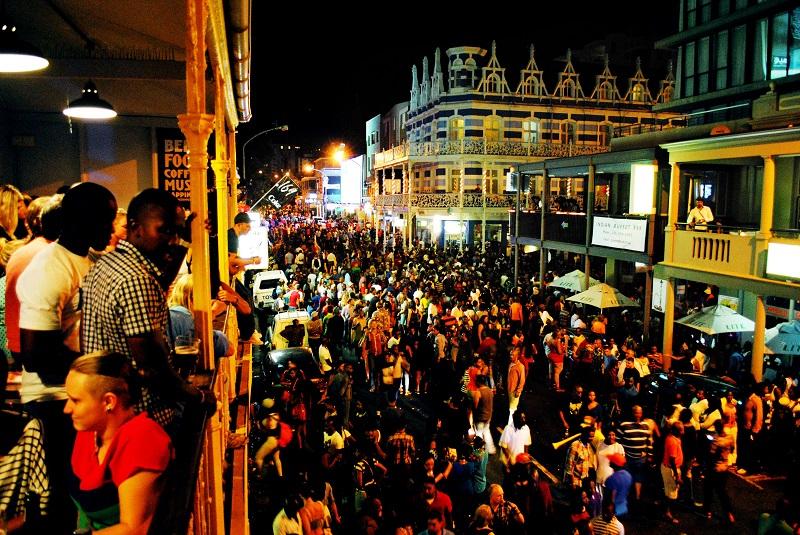 Long Street de noite