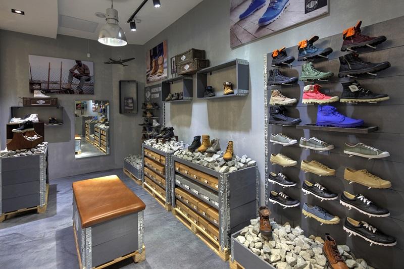 Comprar sapatos no The Mall of Rosebank em Joanesburgo